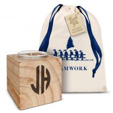 Holiday Gifts - Monogram Candle Holiday Gift Set