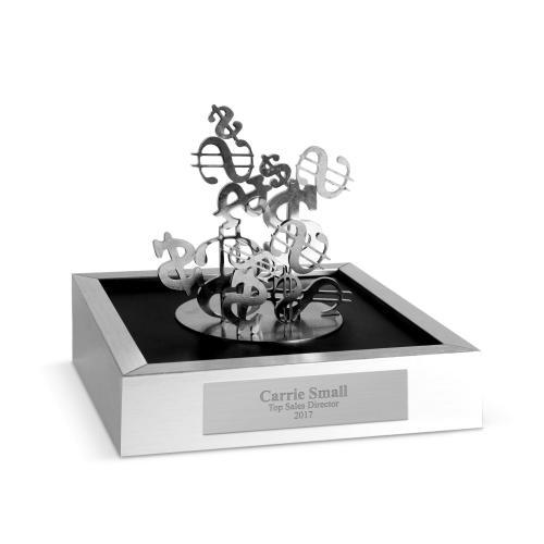 Money Sign Magnetic Sculpture