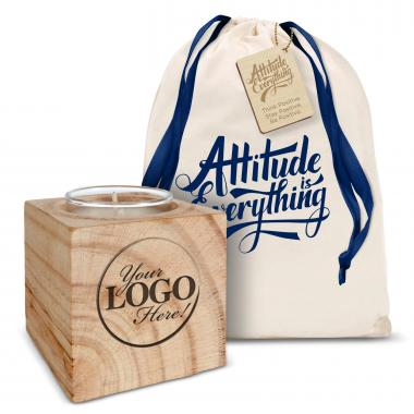 Logo & Personalized Candle Gift Set