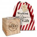 Logo Candle Holiday Gift Set