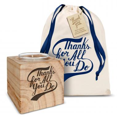 Personalized Candle Gift Set - Make it Happen