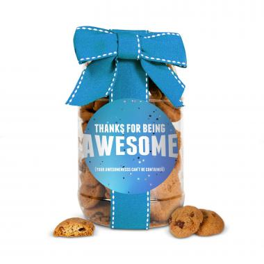 Thanks for Being Awesome Cookie Jar