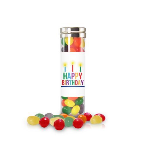 Happy Birthday Jelly Bean Candy Tube