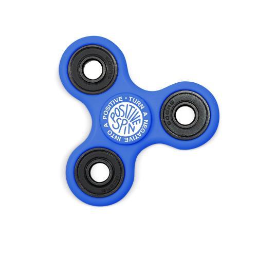 Positive Spin Fidget Spinner - Blue
