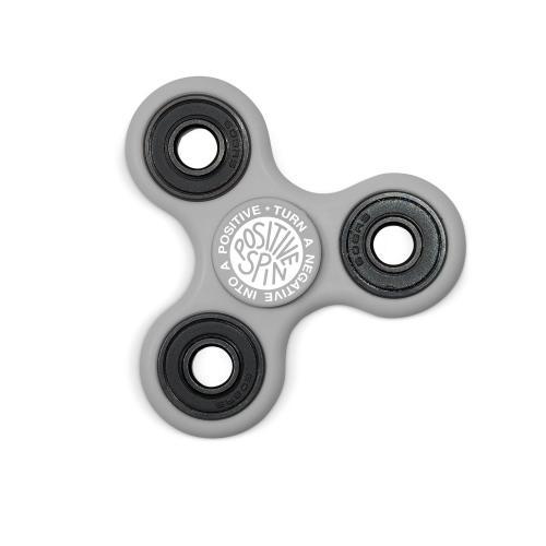 Positive Spin Fidget Spinner - Gray