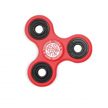 Positive Spin Fidget Spinner - Red