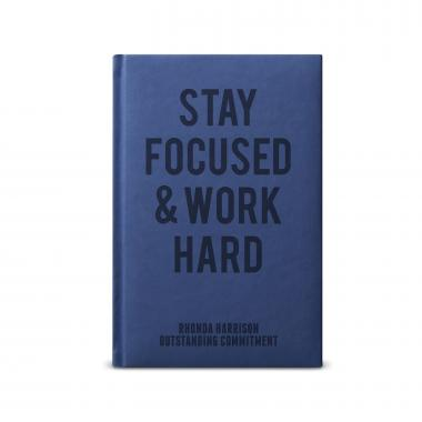 Stay Focused. Work Hard. - Athena Journal