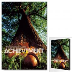 Achievement Oak Infinity Edge Wall Decor