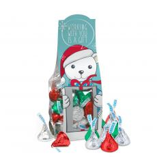 Holiday Gifts - Working With You Hershey Kisses Desk Drop