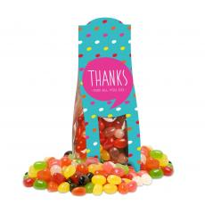 Candy & Food - Thanks for All You Do Jelly Bean Desk Drop