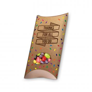 Thanks for All You Do Jelly Bean Pillow Box
