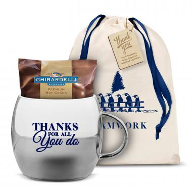 Thanks for all you do sparkling ornament mug hot cocoa Thanks for all you do gifts