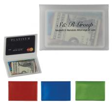 Tradeshow & Event Supplies - ID/Card holder with two inside pockets