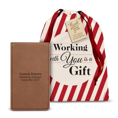 Vegan Leather Manicure Holiday Gift Set