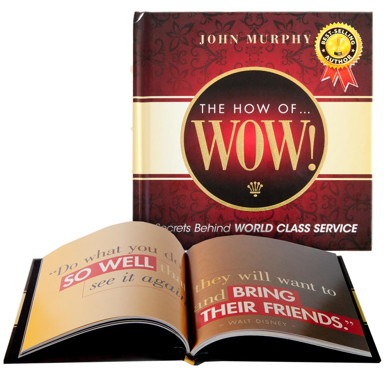 Books The How Of Wow Gift Book By Successories