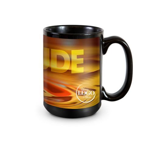 Attitude Rainbow Drop 15oz Ceramic Mug