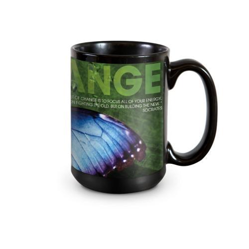 Change Butterfly 15oz Ceramic Mug