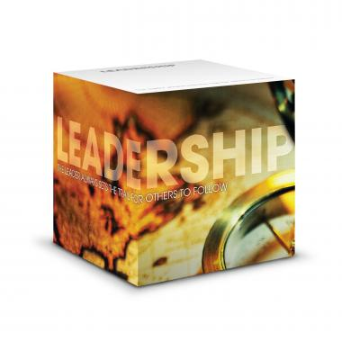 Leadership Compass Self-Stick Note Cube