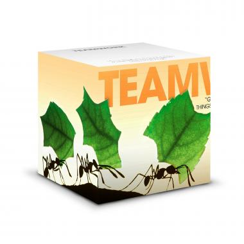 Teamwork Ants Self-Stick Note Cube