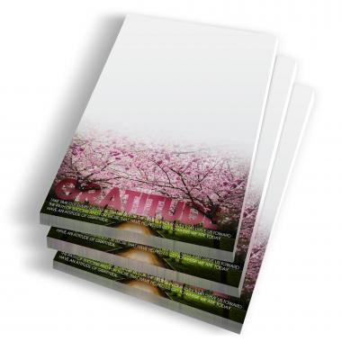 Gratitude Cherry Blossoms Notepads