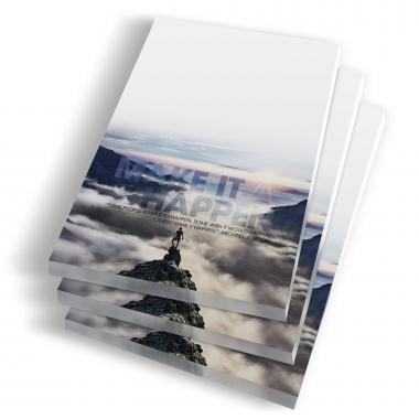 Make it Happen Mountain Notepads