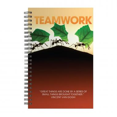 Teamwork Ants Spiral Notebook