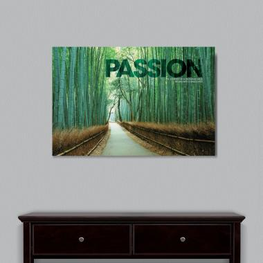 Passion Bamboo Path Motivational Art