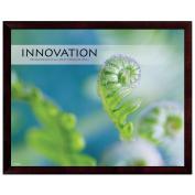 Innovation Fern Unmatted Framed Motivational Poster