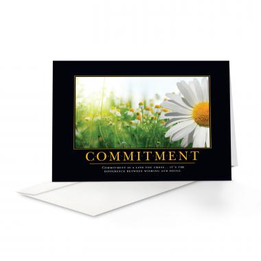 Commitment Daisy 25-Pack Greeting Cards
