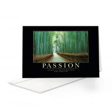 Classic Motivational Cards - Passion Bamboo Path 25-Pack Greeting Cards
