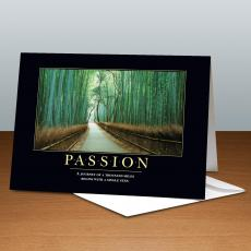 Passion Bamboo Path 25-Pack Greeting Cards