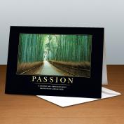 Passion Bamboo Path 25-Pack Greeting Cards  (727095)