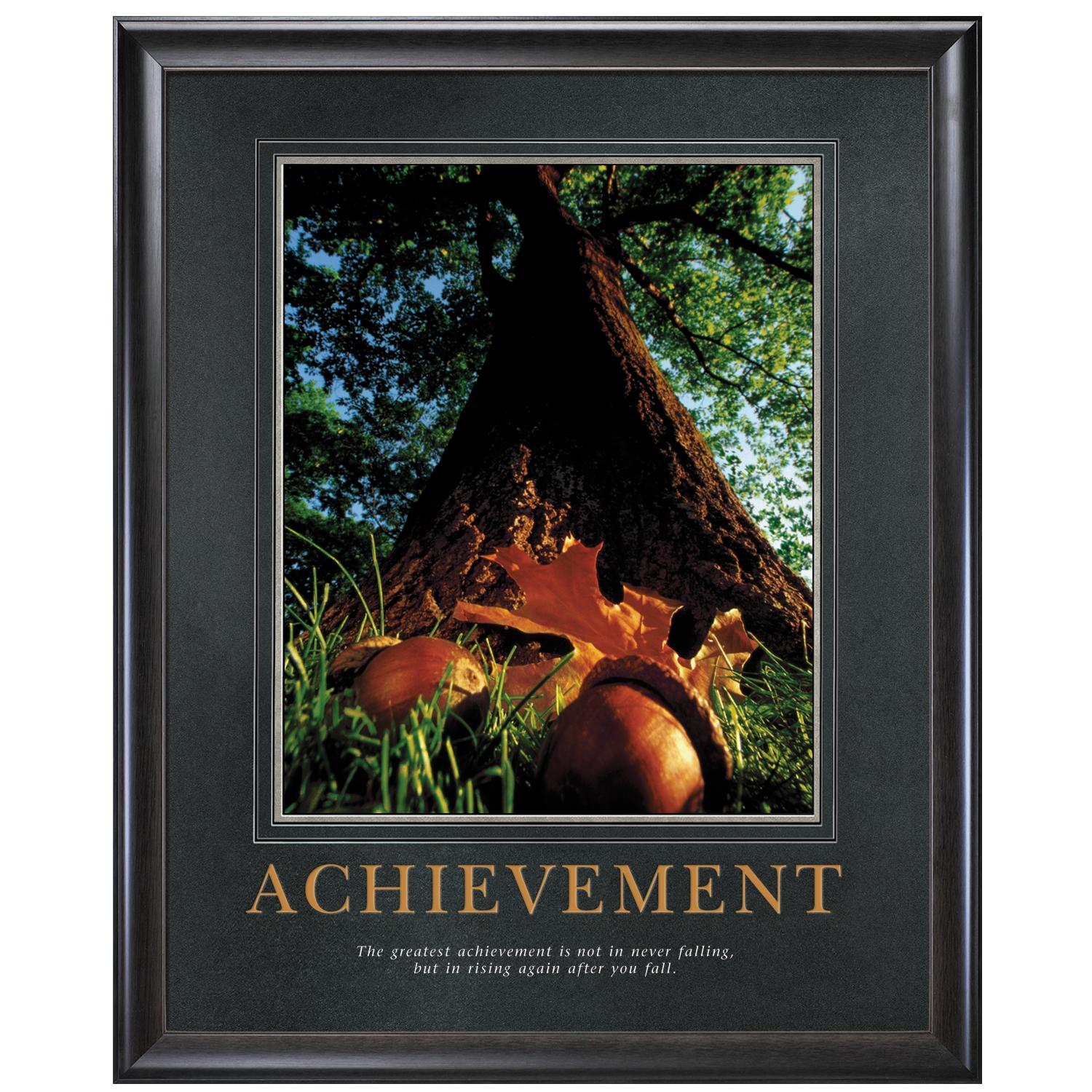 Achievement Oak Motivational Poster
