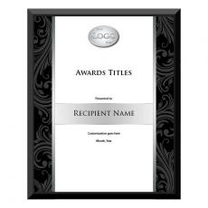 Custom Achievement Plaque Black