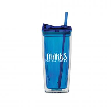Thanks for All You Do 16oz Gem Tumbler