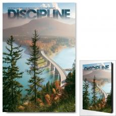 Modern Motivational Art - Discipline Bridge Motivational Art