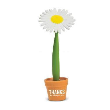 Thanks for Helping Us Grow Flower Pot Pen