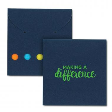 Making a Difference Sticky Note Pocket Pack