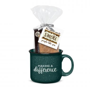 Making a Difference 15oz Camp Mug & S'Mores Gift Set