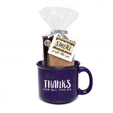 Thanks for All You Do 15oz Camp Mug & S'Mores Gift Set