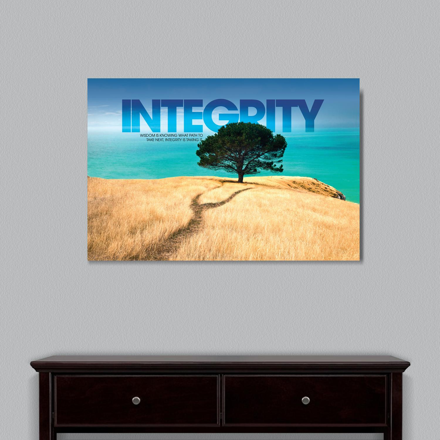 Integrity Tree Motivational Art