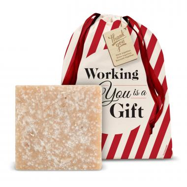 Sweet Almond & Cherry Soap Holiday Gift Set