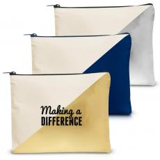 Canvas Bags - Making a Difference Handy Gadget Pouch