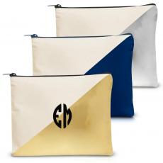 Canvas Bags - Monogram Handy Gadget Pouch