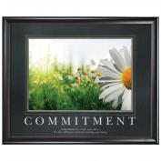 Commitment Daisy Motivational Poster <span>(733223)</span> Classic (733223)