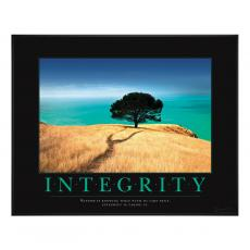 Classic Motivational Posters - Integrity Tree Motivational Poster