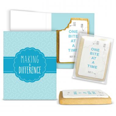 Making a Difference Gourmet Cookie Card