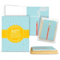 Candy Cards - Happy Birthday Gourmet Cookie Card