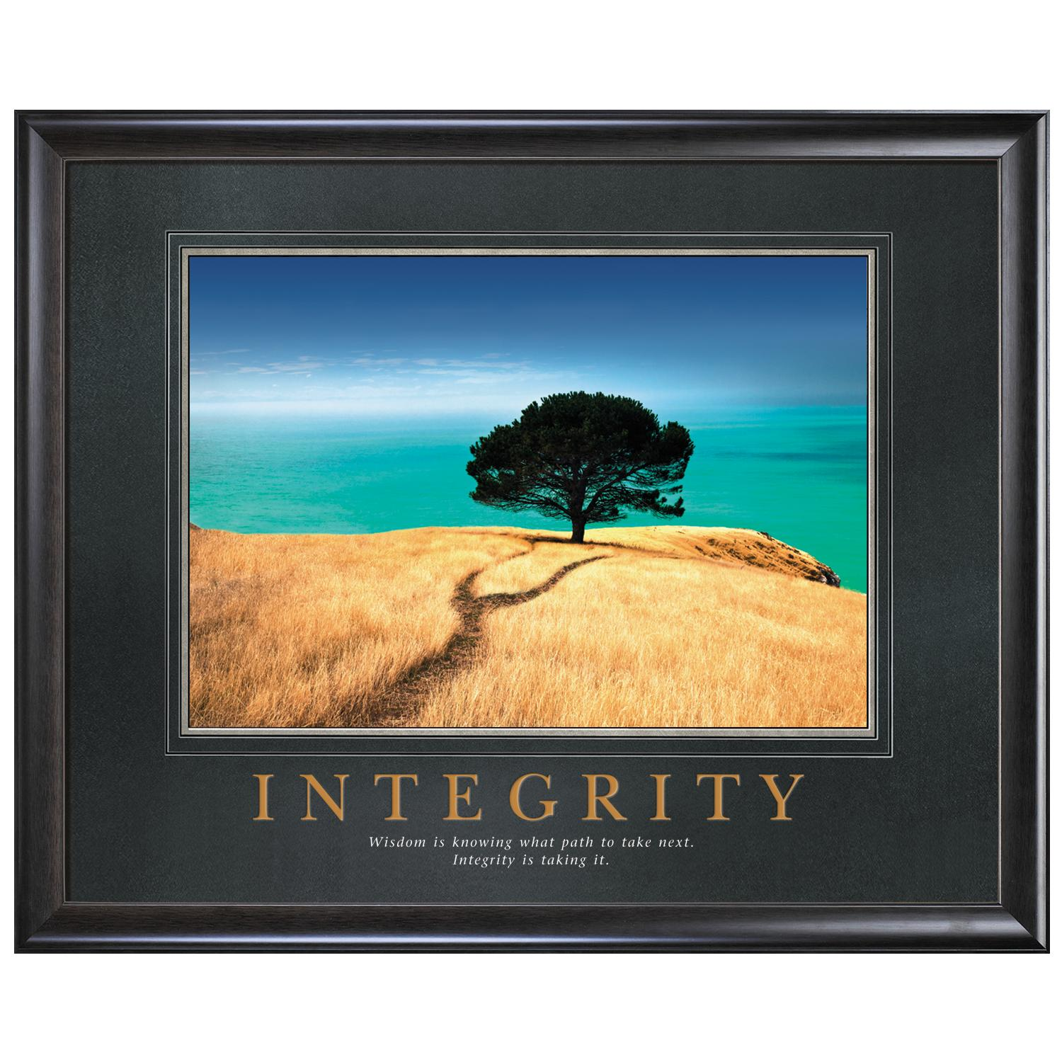 Integrity Tree Motivational Poster by Successories