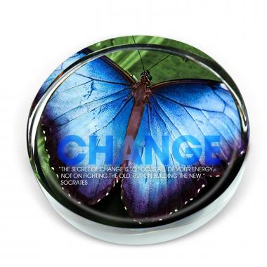 Change Butterfly Positive Outlook Paperweight